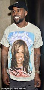 Kanye sold shirts honoring his mother, Donda West